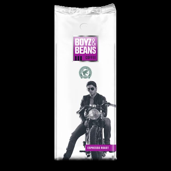 boyz en beans-espresso roast - bonen