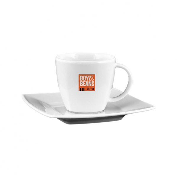 Espresso kop en schotel - Boyz & Beans